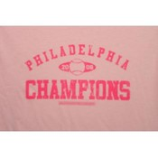 "2008 Philadelphia ""Distressed"" Champs Pink T-Shirt"
