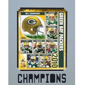 2010 NFC Champions Green Bay Packers 11X14 Matted