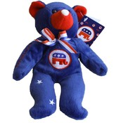 Stars and Stripes 8-Inch Bean Bag Bear