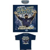 "Prince Fielder Milwaukee ""Beast Mode"" T-Shirt"