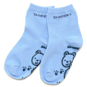 Blue/Navy Baby Grip Socks Wholesale Bulk