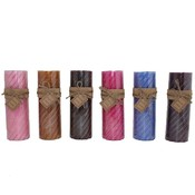 3x9in Scented Pillar Candle - Asst