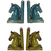 Ceramic Bookend Holder Assorted Wholesale Bulk