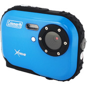 Coleman Mini Xtreme Waterproof Digital Camera (Blu