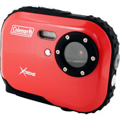 Coleman Mini Xtreme Waterproof Digital Camera (Red