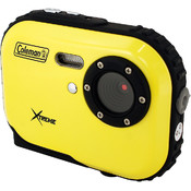 Coleman Mini Xtreme Waterproof Digital Camera (Yel