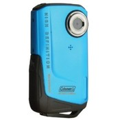 Coleman Xtreme Full 1080p HD Waterproof Digital Video Camera (Blue)