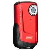 Coleman Xtreme Full 1080p HD Waterproof Digital Video Camera (Red)