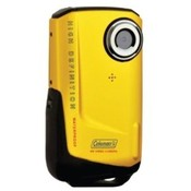 Coleman Xtreme Full 1080p HD Waterproof Digital Video Camera (Yellow)