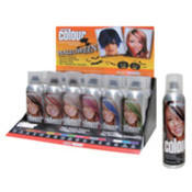 Halloween Bright Hair Color - Asst. Colors Display