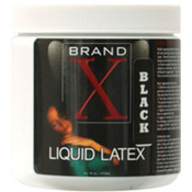Simply Latex and Supply Co Inc. Brand X Liquid Latex - 16 Oz Black Wholesale Bulk