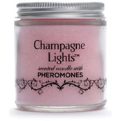 Champagne Lights Candle W/Pheromones - French Vanilla