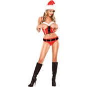 St. Nikki Sexy Santa Women&#39;s Costume- Large/XL