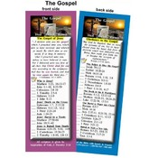 Bookmark - The Gospel of Jesus Christ - Pack of 25