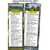 Bookmark- Desciptions of Jesus & Church-Pack of 25