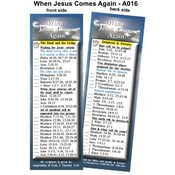 Bookmark - When Jesus Comes Again - Package of 25
