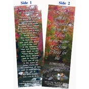 Bookmark - Repent &amp;amp; Be Baptized - Package of 25