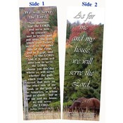 Bookmark - We Will Serve The Lord - Package of 25