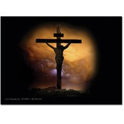 "The Cross of Jesus Christ - 5"" X 7"" Flat Card"