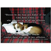 "The Lord Comforts - 5"" X 7"" Flat Card"