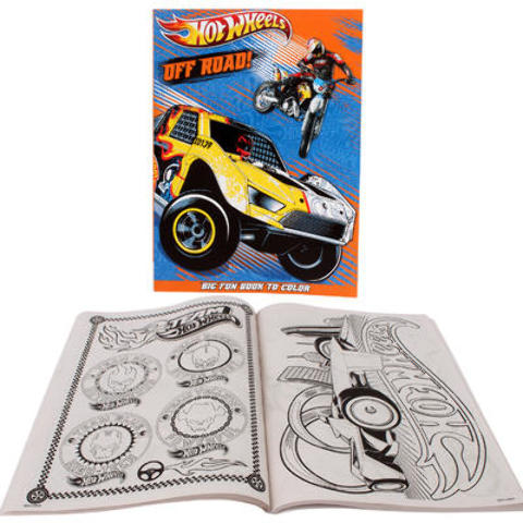 HOT WHEELS Coloring Book (1994681)