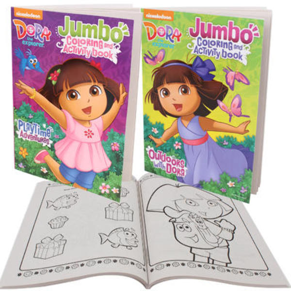 ''DORA Jumbo Coloring and Activity Book - 96 Pages, [2125046]''