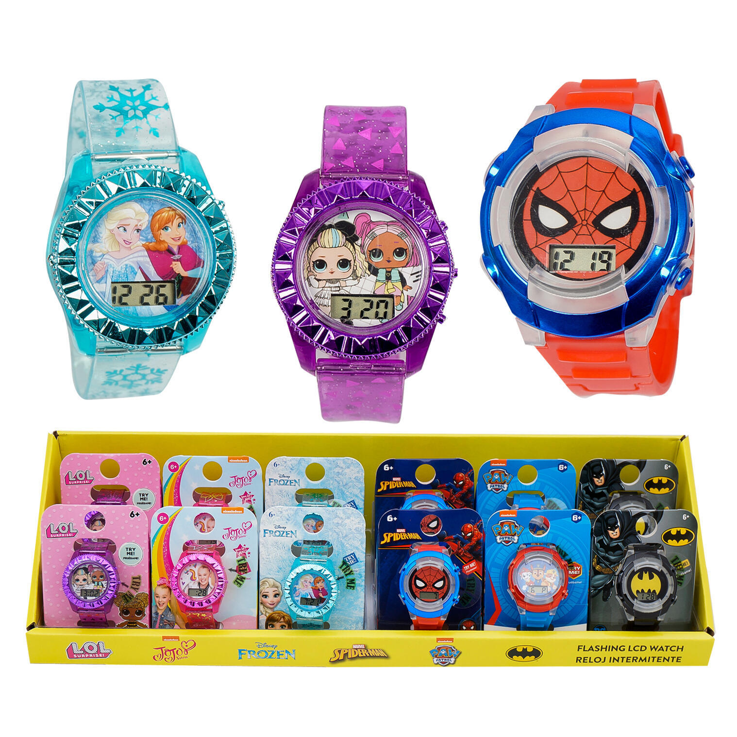 Kid's LCD Flashing WATCH - Assorted Characters [2349742]