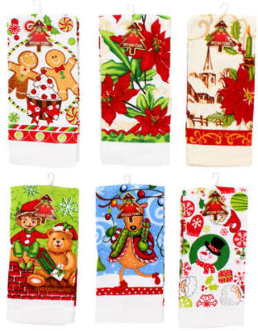 ''CHRISTMAS Kitchen Towel - Assorted, 24.25''''L (2010218)''