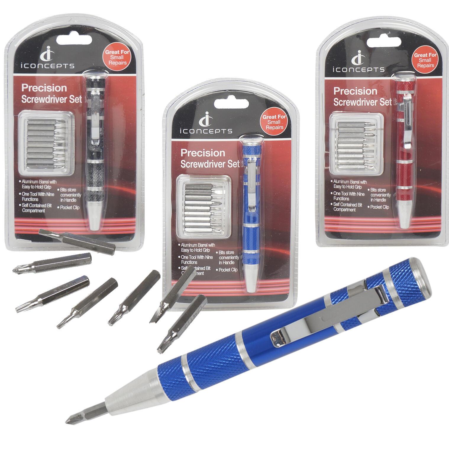 3-pack Precision Screwdriver Pocket Clip