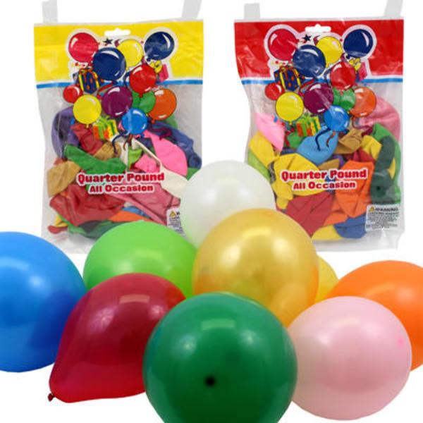 Assorted BALLOON Pack - 1/4lb [1988524]