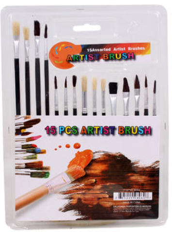 Artist 15-piece PAINT Brush Set [2183836]