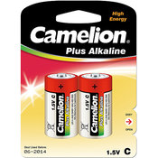 C Alkaline Battery, 2 pack Wholesale Bulk