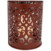 Montrose Wall Sconce Burnt Red