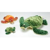 "8.5"" 2 Assorted Color Sea Turtles"