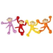 "8"" 4 Asst. Magnet Hot Color Long Limbed"
