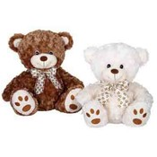 "10"" 2 Assorted Color Sitting Bear"