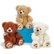 "11"" 3 Assorted Color Sitting Bears"