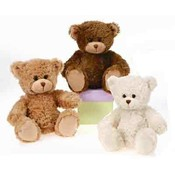 8&quot; 3 Assorted Color Sitting Bears