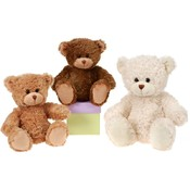 "10"" 3 Assorted Color Sitting Bears"