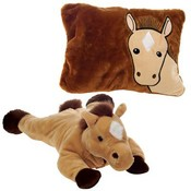 "18"" Horse- Peek-A-Boo Pillow"