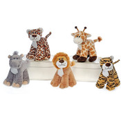 "7"" 5 Assorted Standing Jungle Animals"