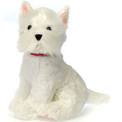 "10"" Sitting Scottie W/ Red Collar"