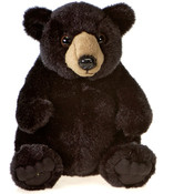 7&quot; Sitting Black Bear