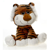 """Happy Kritters"" - 10"" Bean Bag Sitting Tiger"