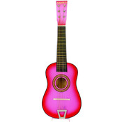 "Toy - 23"" Pink Acoustic Guitar"