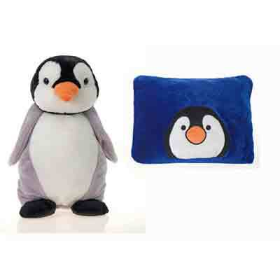 ''18'''' Penguin Peek-A-Boo PILLOW [665733]''
