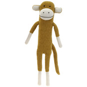 "17"" Beige Chenille Knitted Paul Frank Monkey"