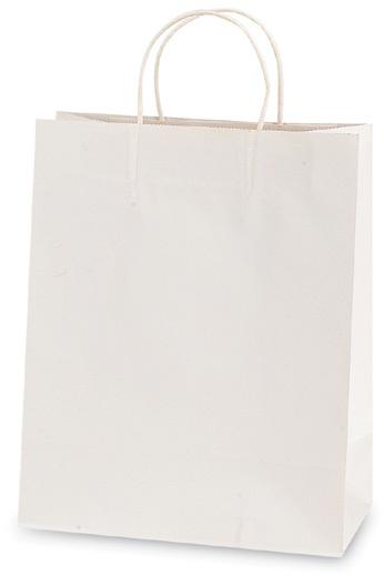 White Narrow Medium Gift Bag [1882745]