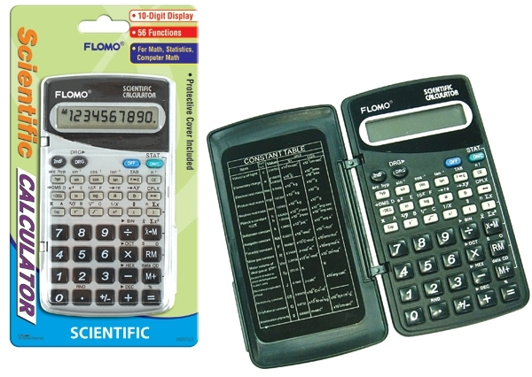 56 Function 10-digit Battery Operated Scientific CALCULATOR (1916179)