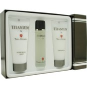 Titanium Lamborghini Set-Edt Spray 3.4 Oz & Aftershave Balm 6.8 Oz & Shower Gel 6.8 Oz By Tonino Lamborghini Wholesale Bulk